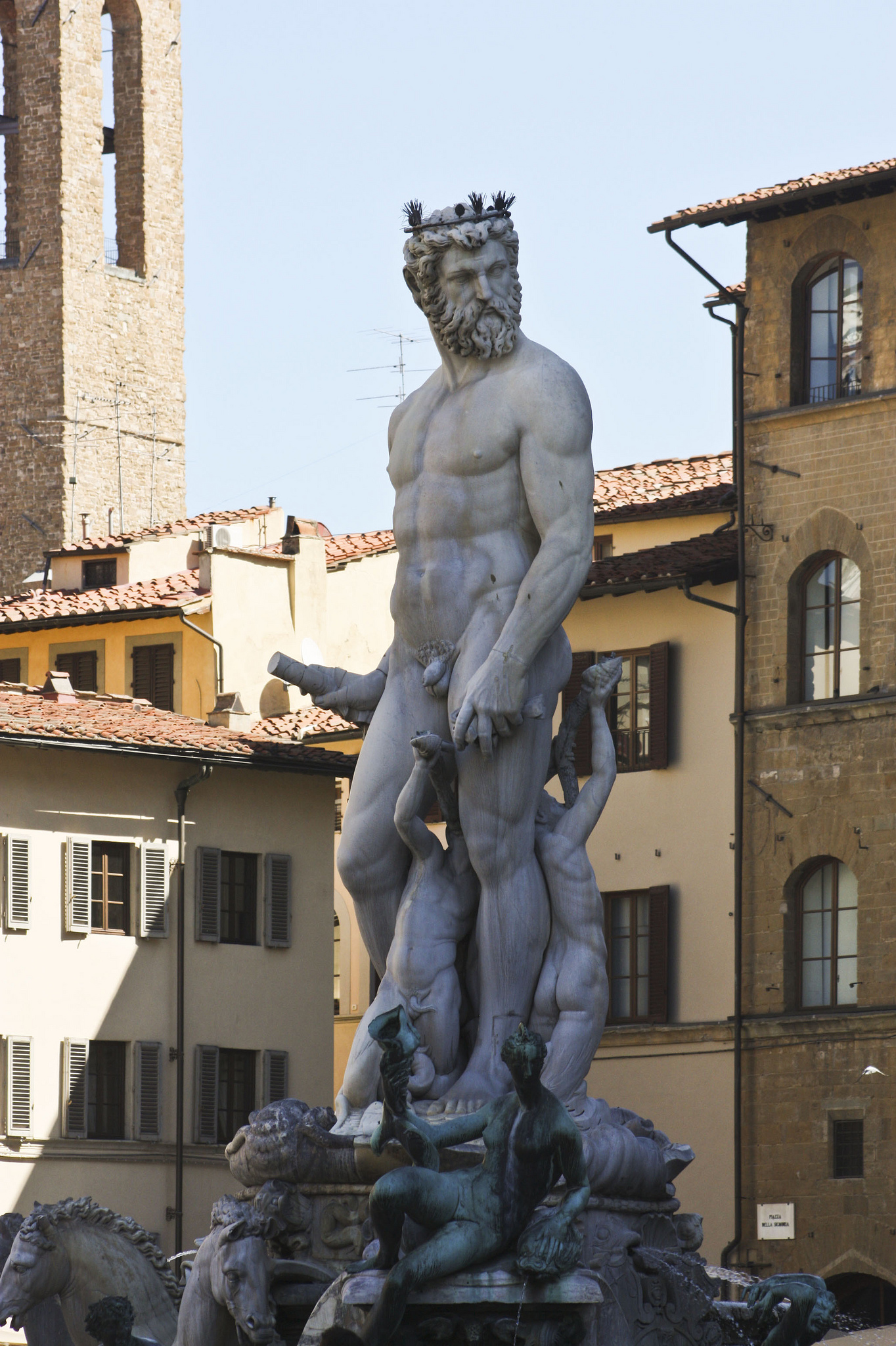 Seeing fine statues in Florence is on the European bucket list of many people ... photo by CC user ashleyhexum66 on Flickr